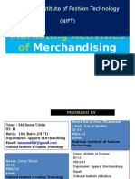 Marketing Activities of Merchandiser