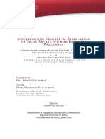 Modeling and Numerical Simulation of Solid Rocket Motors Internal Balistics - PhD Thesis