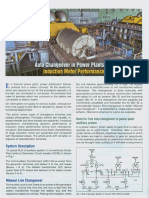 Auto Changeover in Power Plants and Induction Motor Performance - Ieema Journal Dece 2016