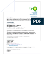 BP UK Limited t