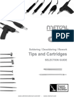 Tips and Cartridges Selection Guide