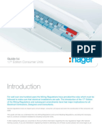 Hager Guide to 17th Edition Consumer Units