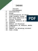 Drug Addiction BIOLOGY