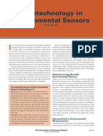 IEEE Instrumentation & Harnett, C. -- Nanotechnology in Environmental Sensors