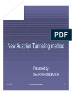 New Austrian Tunnelling Method