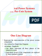 Electrical Power Systems the Per-Unit System