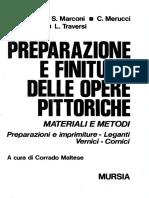 Marconi, Preparazioni e Imprimiture_1