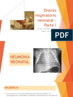 Distrés Respiratorio Neonatal - Parte I - 2doavance 10-03-15