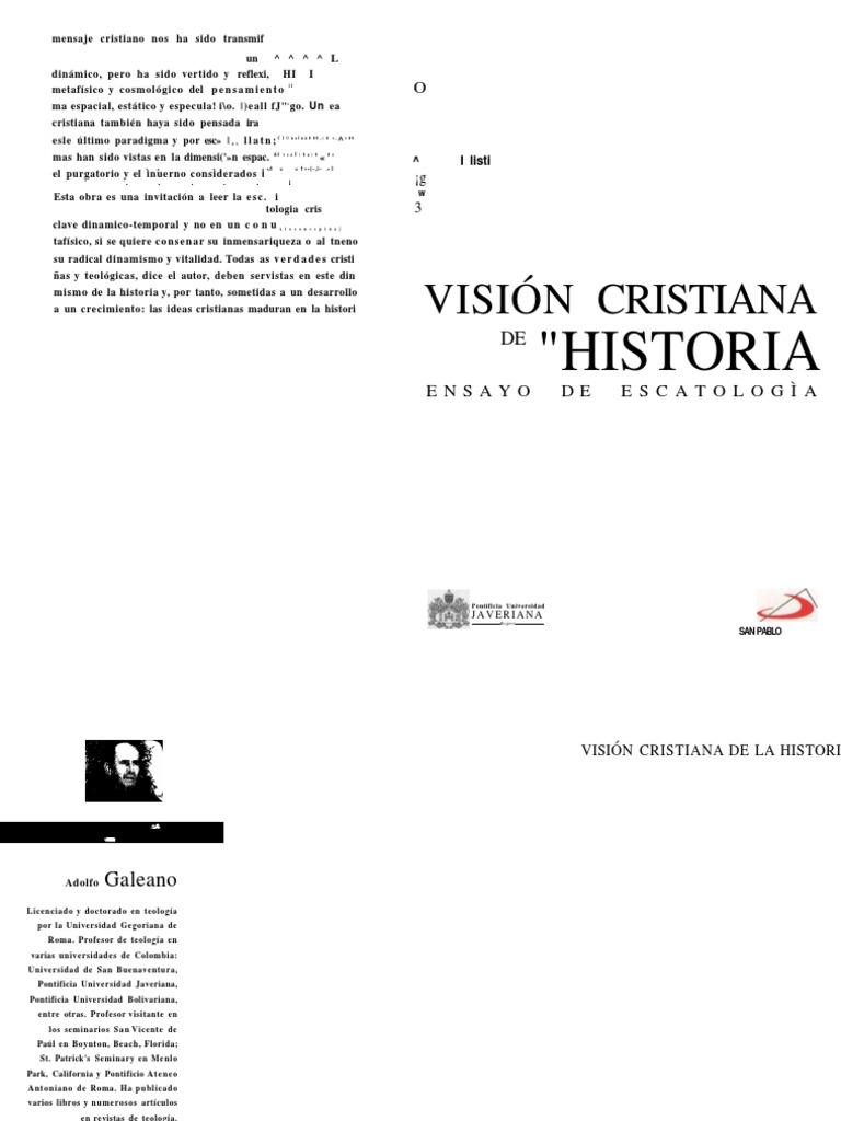 Vision Cristiana De La Historia