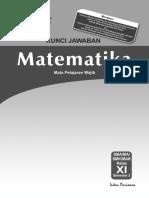 Kunci Jawaban, Silabus Dan RPP PR MAT 11B WAJIB 2014