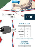 Choisissez votre échangeur d'air Venmar