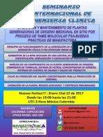 SEMINARIO INTERNACIONAL DE INGENIERIA CLINICA