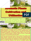 Aromatic Plants Cultivation and Utilization