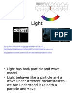 Interactions of Light and Matter