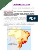 Geografia - Aula 08 - População do Brasil
