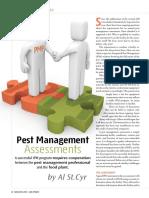 AIB Pest Management Assesment