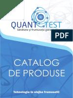 Catalog Online Quanttest