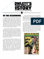 Hysterical Horror Comic History