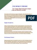 Engine Design Theory