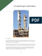 Chile Volverá a Exportar Gas y Electricidad a Argentina