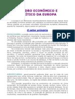 Geografia - Aula 11 - Europa - Quadro econômico e político