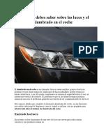 Todo lo que debes saber sobre las luces y el sistema de alumbrado en el coche 2015.docx