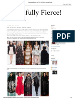 Beautifully Fierce!_ Fall 2016-2017 Haute Couture Trends