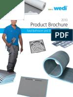 Wedi Product Brochure