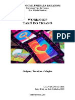 Workshop Taro Do Cigano