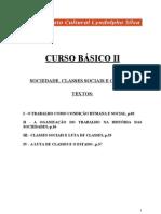 Curso Básico II - Sociedade, Classes Sociais e o Estado