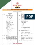 Solutions 10 Samplepaper