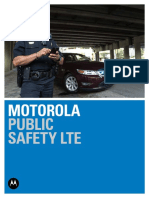 Motorola Solutions Public Safety Lte Mobile Broadband Brochure
