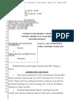 SEC v. Imran Husain Et Al Doc 33 Filed 22 Nov 16