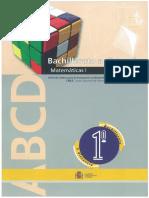 Matematicas 1 Bach