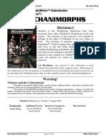 Rifts - Sourcebook - Mechanimorphs (Unofficial)