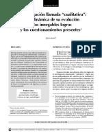 Estado Del Arte Investigaci{on Cualitativa