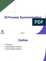 Slides - Lec Chapter 5 - Process Synchronization
