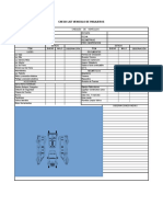Check List Vehiculos Pasajeros