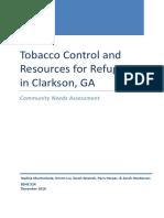 clarkston tobacco report final