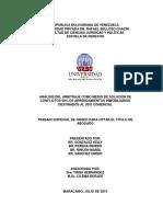 Análisis del arbitraje como medio de solución de conflictos en los arrendamientos inmobiliarios destinados al uso comercial. (Tesis).
