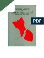 Krishna Menon- Disarmament