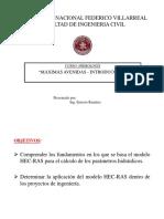 Máximas Avenidas HEC-RAS