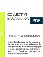 24 Collective Bargaining