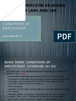 6 Conditions of Work PDF