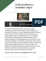 Crisis actual del socialismo y gobernamentalidad según Foucault CIPER Chile