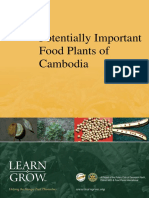 Potentially Important Food Plants of Cambodia