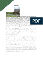 Tratado Itamaraty. Rafel Valdez