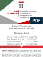 Alokasi Frekuensi Komunikasi Maritim Indonesia