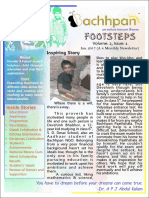 Bachhpan Footsteps-Vol:2, Issue:1