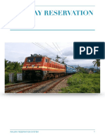 Indian  railway reservation system
